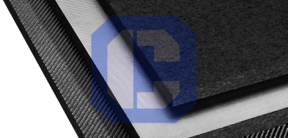 Rayon Sliced Foam Graphite Board Insulation from CeraMaterials