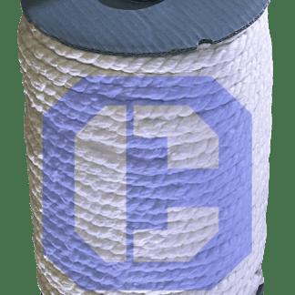 Ceramic Fiber 3-Ply Rope from CeraMaterials