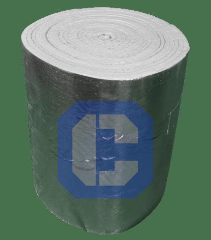 Ceramic Fiber Blanket with Foil from CeraMaterials