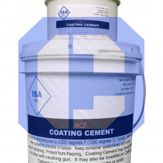 RCF Coating Cement from CeraMaterials