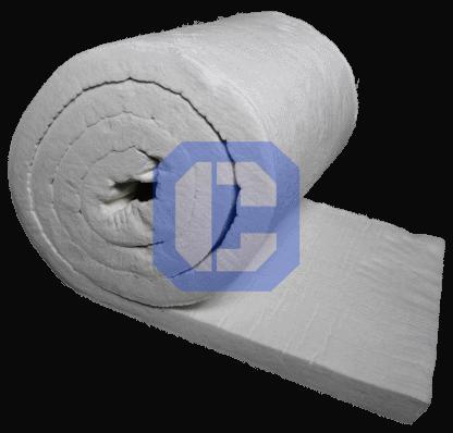 Bio-soluble fiber blanket-ceramaterials